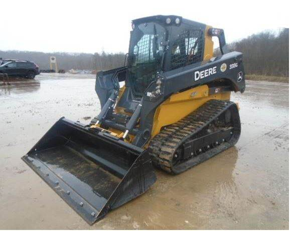 John Deere Skid Steer >> 2018 John Deere 333g Skid Steer For Sale 356 Hours West Virginia