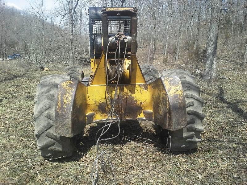 Log Skidder Winch Cable: Clark Ranger 666D Cable Skidder