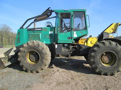 1999 Timberjack 360 Skidder with Cable
