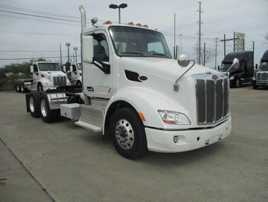 2014 Peterbilt 579 Day Cab Truck, 198 Wheelbase, Tool box, Lease  Maintained, Low Miles, UltraShift Transmission For Sale, 359,575 Miles |  Dallas, TX |
