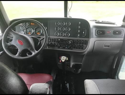 2014 Peterbilt 388 Sleeper Semi Truck, Cummins Power, 13 Speed, Flat Top,  Full Gauge Package