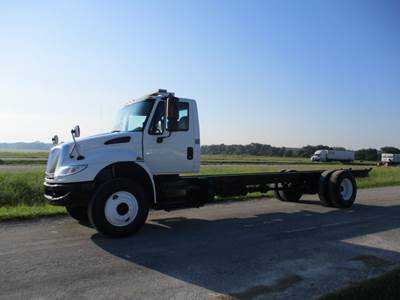 2015 International 4300 Cummins ISB 260 hp, Allison 2500 RDS PTO Capable, 254