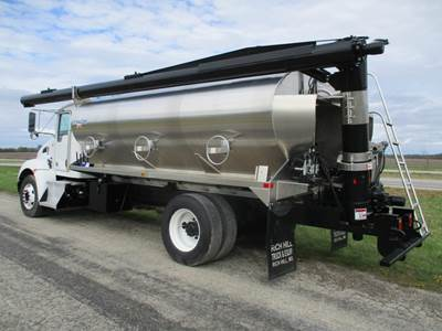 2015 International 4300 with NEW KT Pacer 15' Bulk Aluminum Feed Body | Cummins ISB 260 hp | Allison Automatic 2500 RDS | Feed Truck