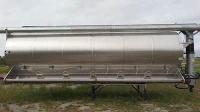 Warren 24' Aluminum Feed Truck Body