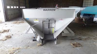 New 13' Warren LF-3020-SS Stainless Fertilizer/Lime/Litter Spreader