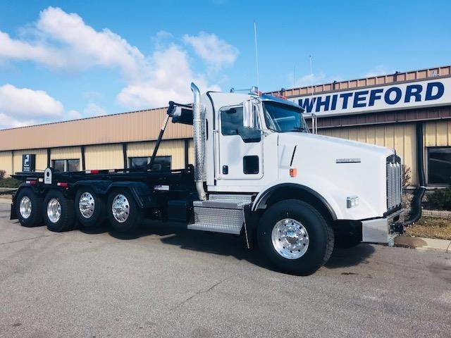 2019 Kenworth T800 Roll Off Truck, Cummins X15, 485HP, Automatic For Sale |  South Bend, IN | 294953 | MyLittleSalesman com