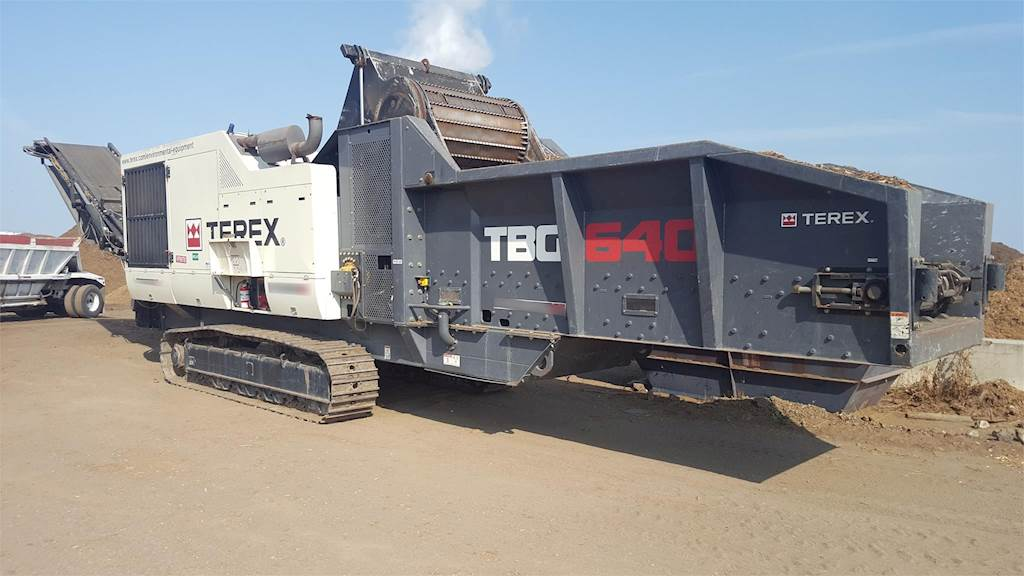 2015 Terex TBG640 Horizontal Grinder For Sale, 1,650 Hours | Portland, OR |  MM170809-1 | MyLittleSalesman com
