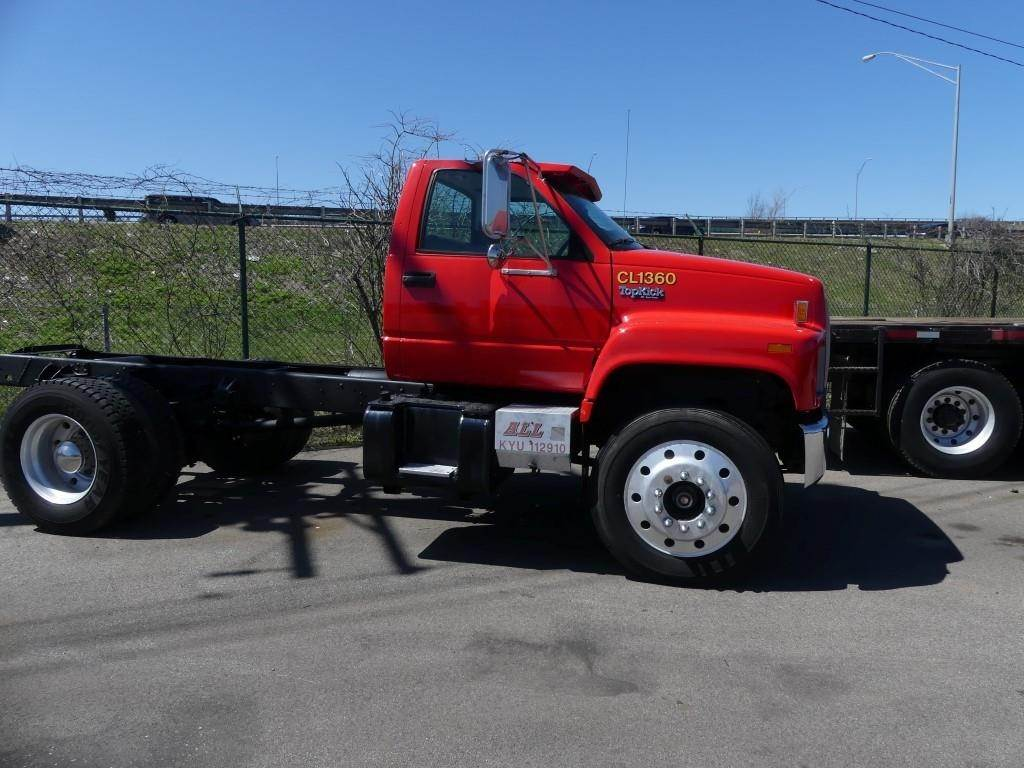 1993 Gmc Topkick C8500 Cab Chassis Truck For Sale 418 551