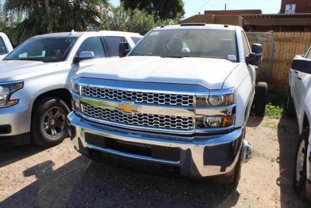 2019 Chevrolet Silverado 3500hd Cab Chassis Work Truck 6 Speed