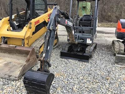 2014 Terex TC16 Mini Excavator