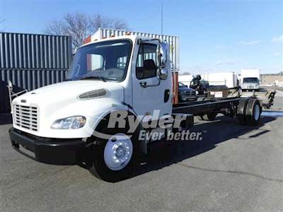 2012 Freightliner M2 106 Single Axle Cab & Chassis Truck, Cummins ISB'10  6 3L 240/2300, 240HP, 6 Speed Automatic