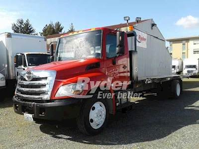 2012 Hino 268 Single Axle Cab & Chassis Truck, J08E-TV'10 220/2500, 220HP,  5 Speed Automatic