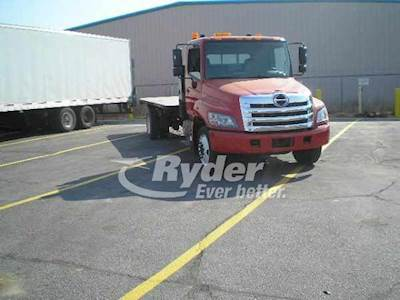 2012 Hino 268 Single Axle Cab & Chassis Truck, JO8E-TA'10 220/2500, 220HP,  6 Speed Automatic