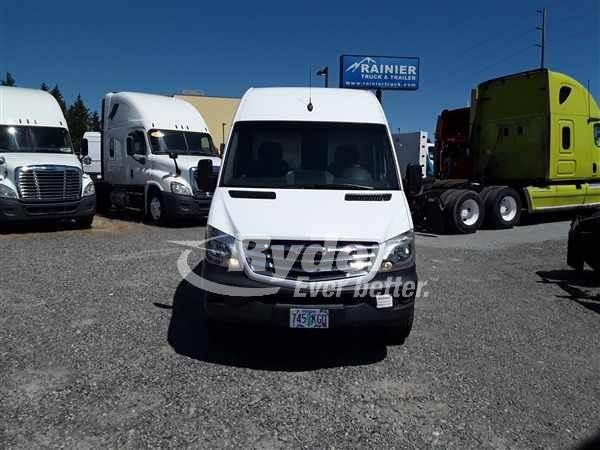 2014 Freightliner Sprinter 2500 Single Axle Cargo Van - Mercedes OM651  161/3800, 161HP, 7 Speed Automatic