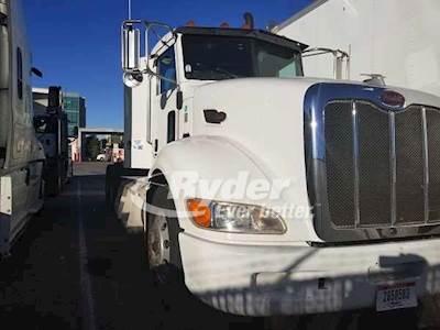2012 Peterbilt 386 Tandem Axle Day Cab Truck, Westport GX'10 HD15L 475 LNG,  475HP, 10 Speed Manual