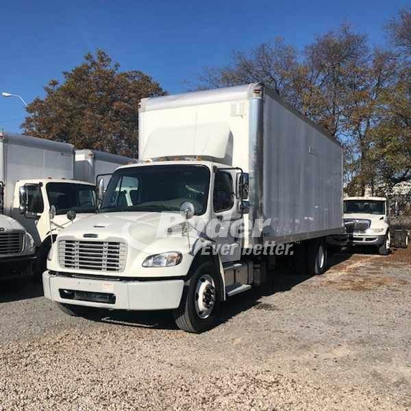 2015 Freightliner M2 106 Single Axle Box Truck Cummins