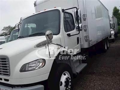 2013 Freightliner M2 106 Tandem Axle Box Truck, Cummins ISC'10 6 8L  270/2000, 270HP, 9 Speed Manual