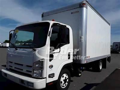 2013 Isuzu NPR HD Single Axle Box Truck, 4HK1TC'10 215/2500, 215HP, 6 Speed  Automatic