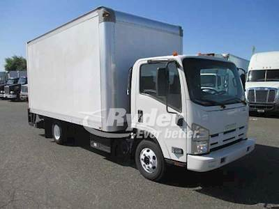 2011 Isuzu NPR HD Single Axle Box Truck, 4HK1TC'10 205/2400, 205HP, 6 Speed  Automatic