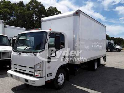 2014 Isuzu NPR HD Single Axle Box Truck - 4HK1TC'10 215/2500, 215HP, 6  Speed Automatic
