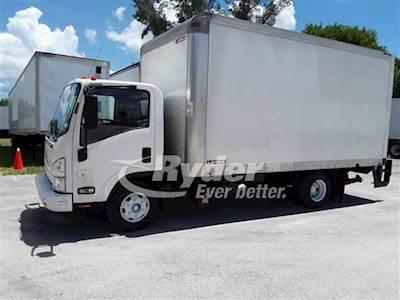 2014 Isuzu NPR HD Single Axle Box Truck - 4HK1TC'10 215/2500, 215HP, 6  Speed Automatic