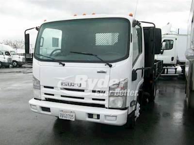2009 Isuzu NPR HD Single Axle Flatbed Truck, 4HK1TC '07 205/2600, 205HP, 6  Speed Automatic