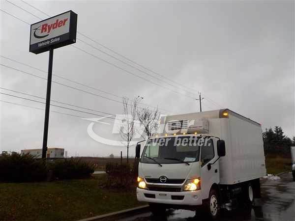 2014 Hino HINO 195 Single Axle Refrigerated Truck, J05ETP'10 210/2500,  210HP, 6 Speed Automatic For Sale, 129,845 Miles | Oakville, ON | 564266 |