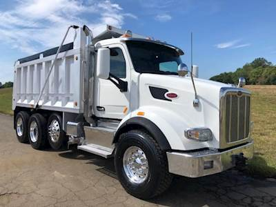 2016 Peterbilt 567 Tri Axle Dump Truck - Paccar MX13, 455HP, Manual