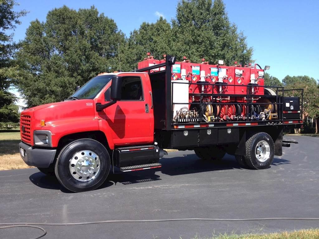 Fireball Truck Sales >> 2005 Chevrolet Kodiak C7500 Fuel Lube Truck Caterpillar Automatic For Sale 261 399 Miles Chatham Va 501594 Mylittlesalesman Com