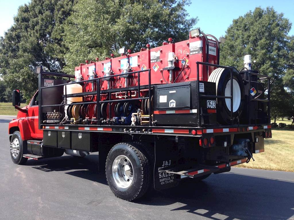 Fireball Truck Sales >> 2005 Chevrolet Kodiak C7500 Fuel Lube Truck Caterpillar Automatic