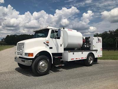 1990 International 8100 Single Axle Fuel Lube Truck Cummins L10 300HP Manual