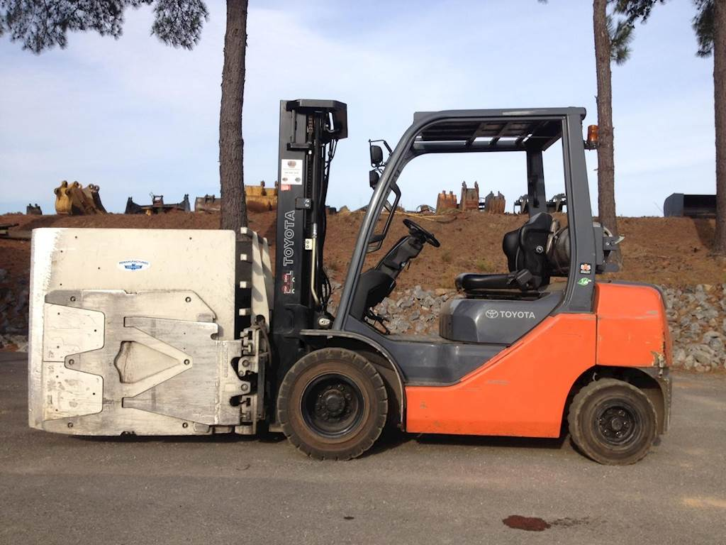 2014 Toyota 8fgu25 Mast Forklift For Sale  1 997 Hours