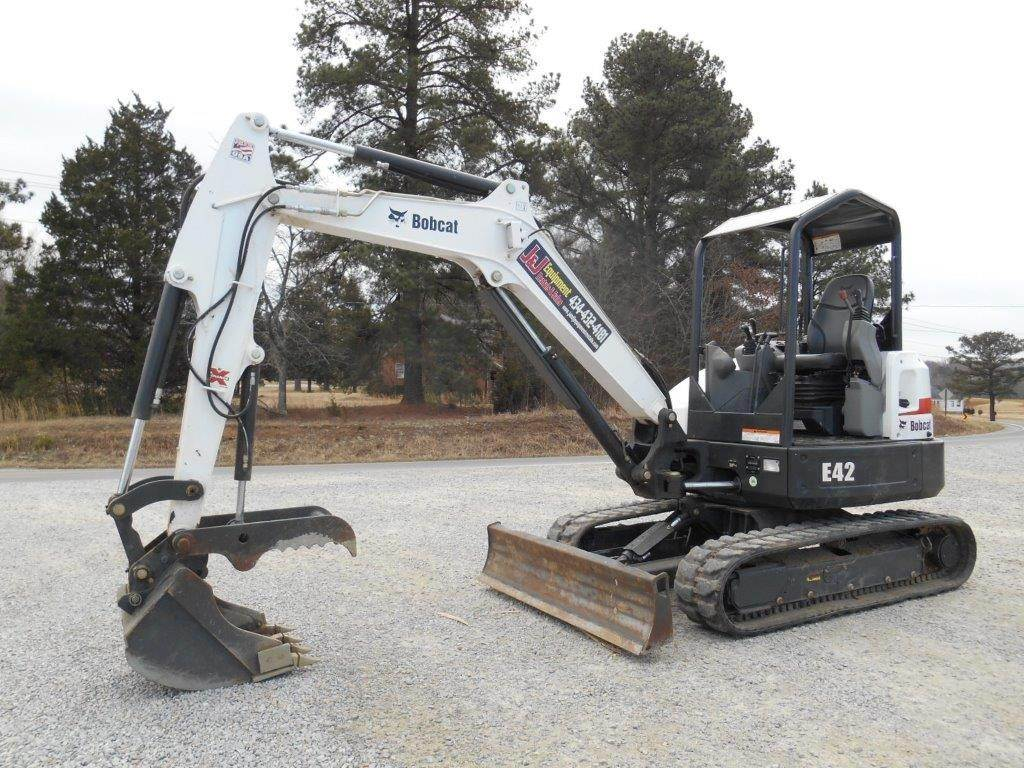 2013 Bobcat E42 Mini Excavator For Sale, 1,238 Hours | Whiteville, NC |  414033 | MyLittleSalesman com