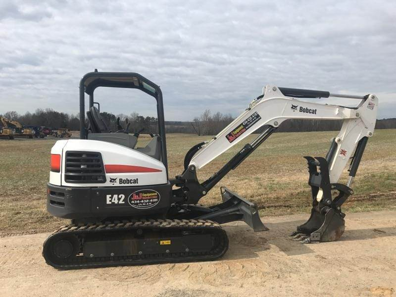 2017 Bobcat E42 Mini Excavator For Sale, 109 Hours | Chatham, VA | W13084 |  MyLittleSalesman com