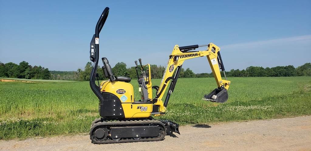 2019 Yanmar SV08-1B Mini Excavator For Sale, 1 Hours | Chatham, VA | BF340  | MyLittleSalesman com
