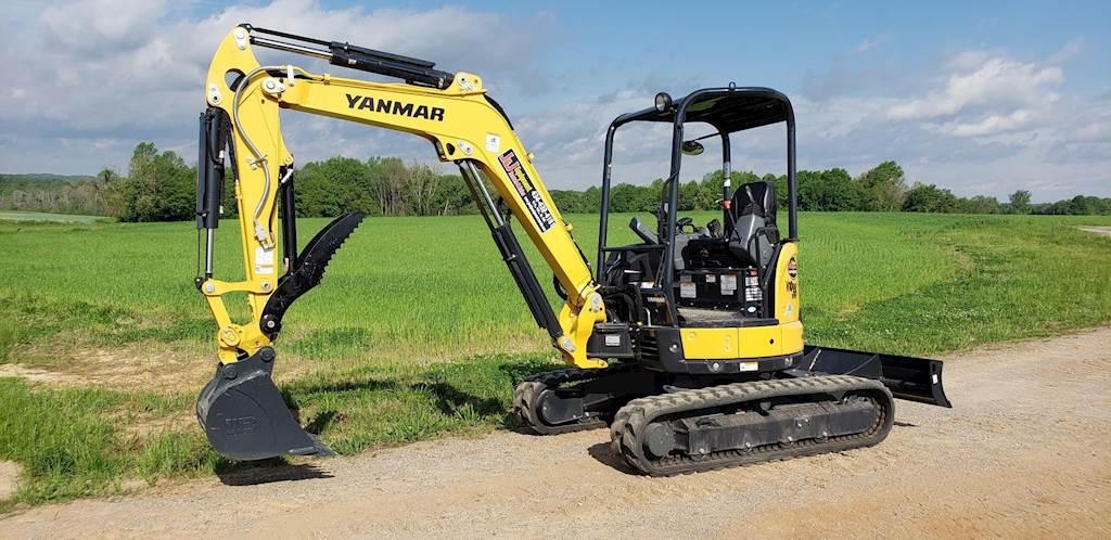 2019 Yanmar VIO35-6A Mini Excavator For Sale, 3 Hours | Chatham, VA | AJ187  | MyLittleSalesman com