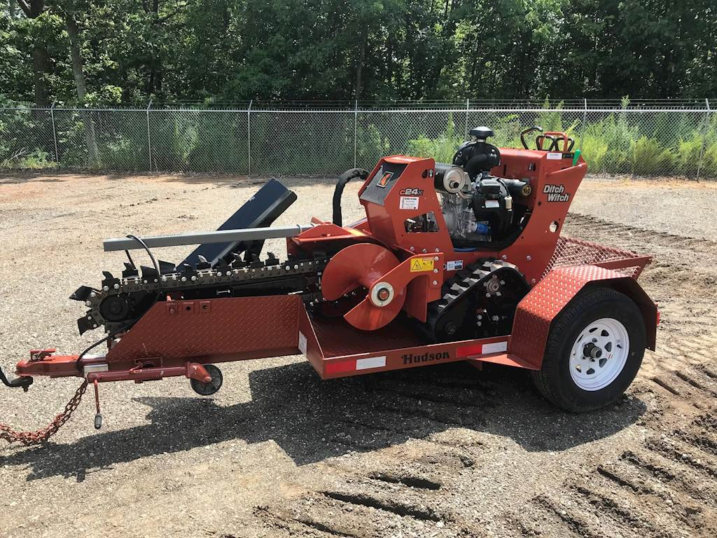 2018 Ditch Witch C24X Trencher For Sale, 28 Hours | Greer, SC | 001084 |  MyLittleSalesman com