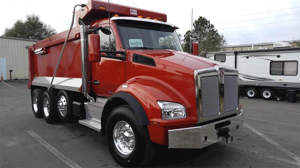 2020 Kenworth T880 Tri Axle Dump Truck, Cummins X15 w ...Kenworth Tri Axle Dump Trucks For Sale In Pa