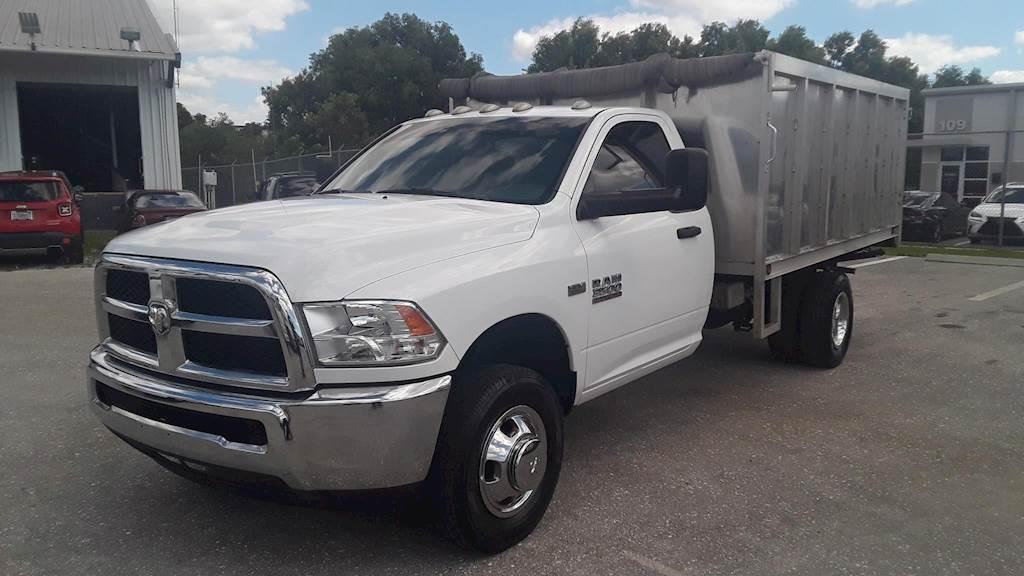 Dodge Trucks 2016 >> 2016 Ram 3500 Single Axle Dump Truck Dodge 6 4l Hemi 410hp Automatic For Sale 41 688 Miles Riviera Beach Fl Ugg191270 Mylittlesalesman Com