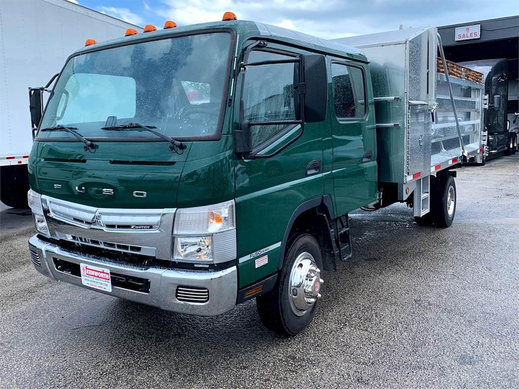 2019 Mitsubishi Fuso FE160CC Single Axle Landscape Truck, Chevy GM 6 0L V8,  297HP, Automatic For Sale, 138 Miles | Riviera Beach, FL | KGKG3672 |