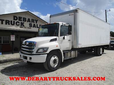 2015 Hino 268 Cab & Chassis Truck
