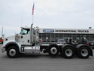 2020 International HX Tri Axle Day Cab Truck, Cummins ISX, 605HP, Manual