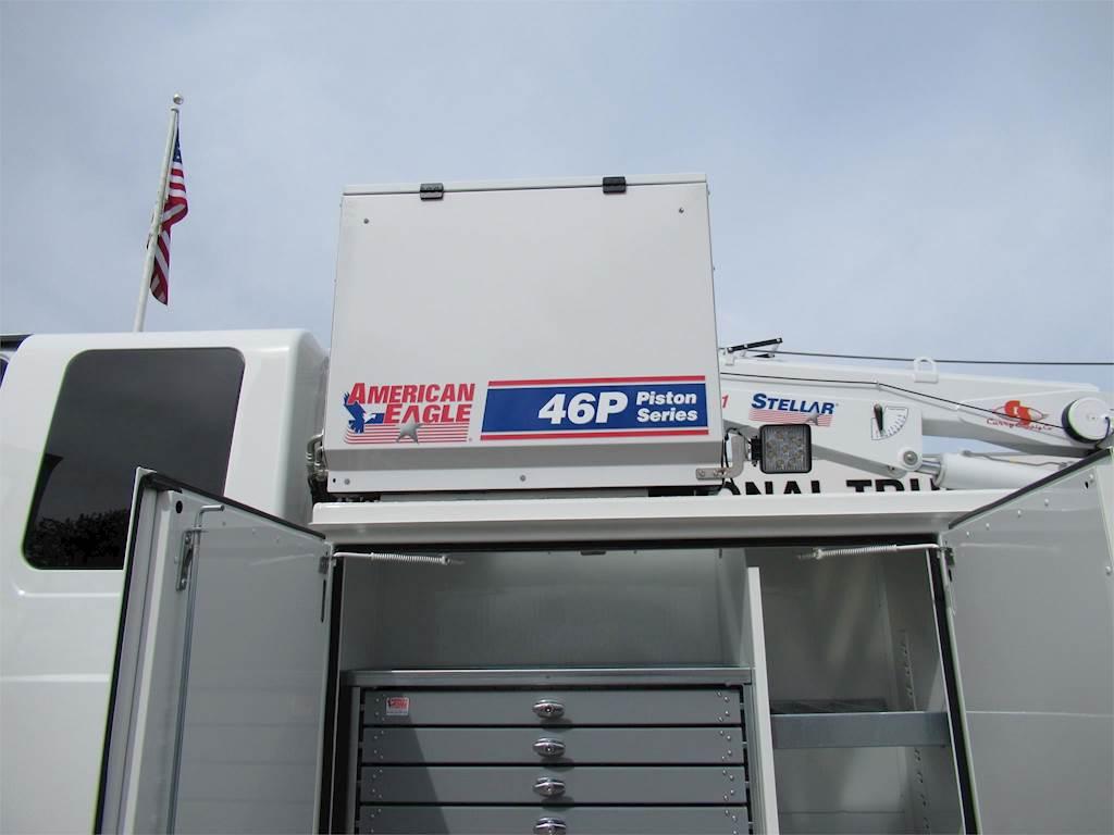 2019 International MV Single Axle Stellar Mechanic / Service Truck