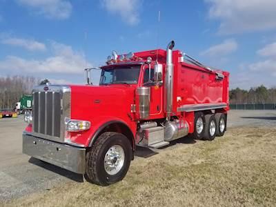 2019 Peterbilt 381 Dump Truck, Cummins X15, 605HP, Manual