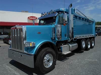 2020 Peterbilt 389 Tandem Axle Dump Truck, Cummins X15, 565HP, Automatic