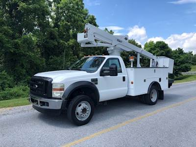 ford boom & bucket trucks for sale   mylittlesalesman com versalift bucket  truck wiring diagram