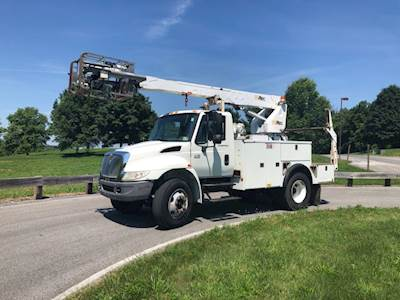 Used Bucket Trucks For Sale >> Used International Durastar Boom Bucket Trucks For Sale