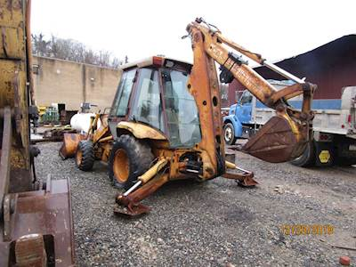 1989 Case 580K Backhoe with extended hoe 4x4 - Located in pennsylvania