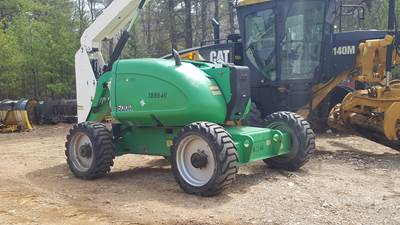 2012 JLG 600A Articulating Boom Lift