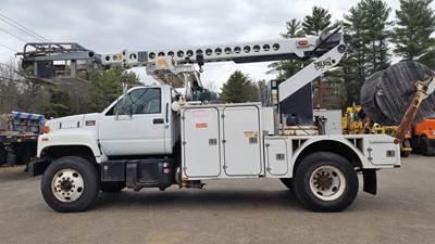 2000 GMC C7500 Boom / Bucket Truck - Telsta Aerial Lift